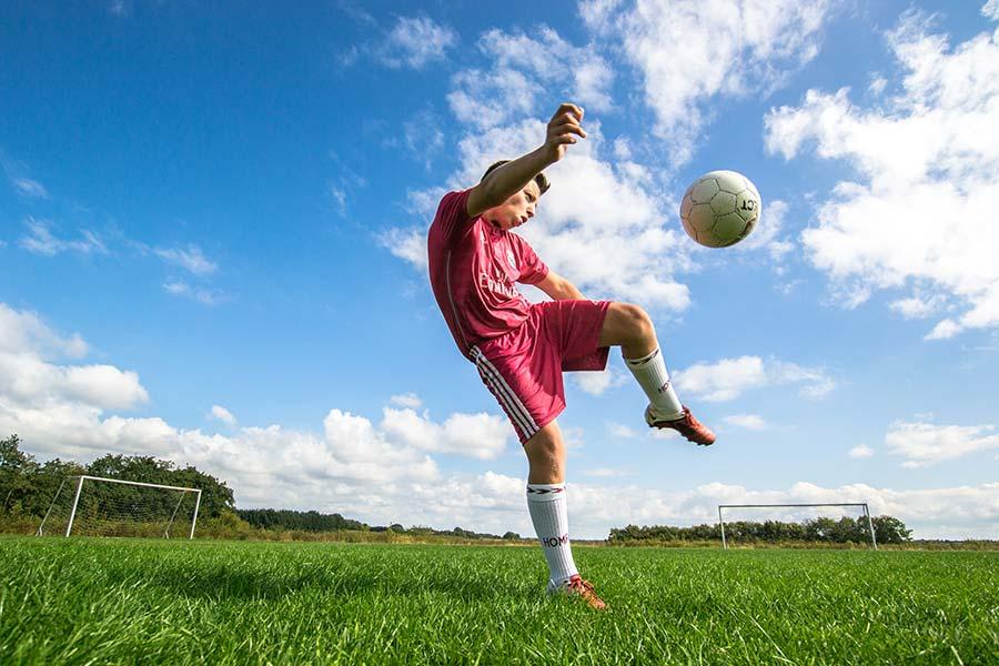 Linjefaget Drengefodbold på Ølgod Efterskole