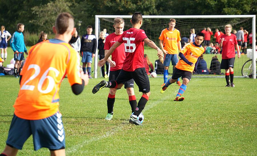 Fodbold linjen på Ølgod Efterskole